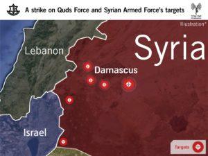 A szíriai támadásokkal Izrael félreérthetetlen üzenetet küld Iránnak