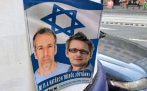 Antiszemita poszterekre tették fel az Index.hu újságíróit