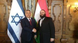 Köszönetet mondott Orbán Viktornak Izrael és a zsidóság melletti kiállásáért az Európai Zsidó Szövetség elnöke