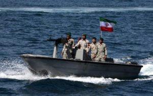 Az iráni Forradalmi Gárda lefoglalt egy hajót a Perzsa-öbölben