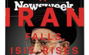 """Botrányos Newsweek címlap: """"Ha Irán elbukik, az ISIS feltámad"""""""