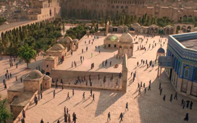 A Templom-hegyen is provokál a Netflix Messiása