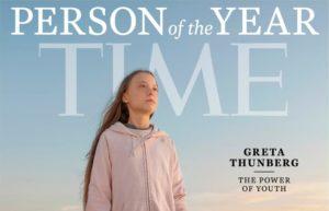 Greta Thunberg az Év Embere a Time magazin címlapján