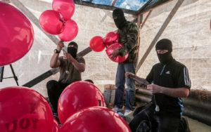Egy időre leengednek a Hamász lufi bombái