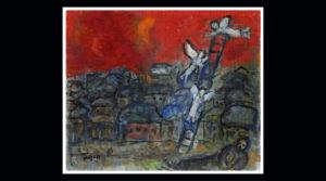 Ellopott Chagallért licitálnak Izraelben