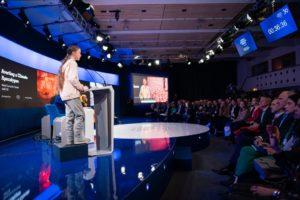 Greta Thunberg és klíma volt a fő téma Davosban