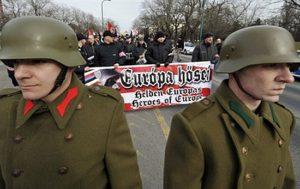 """Tiltakozás a neonáci """"Kitörés Emléktúra"""" ellen"""