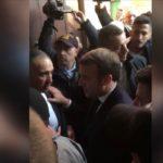 Macron elnézést kért, amiért ordítozott az izraeli rendőrökkel