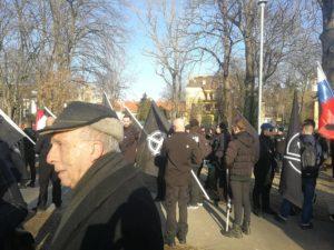 """""""Becsület napja"""": holokauszttúlélő rabbi is megjelent a Városmajorban"""