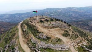 Palesztinok harcban állnak Júdea és Szamária zsidó történelmével