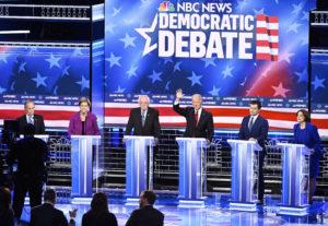 Demokraták tévévitája: Bloomberg, a kapitalista közellenség