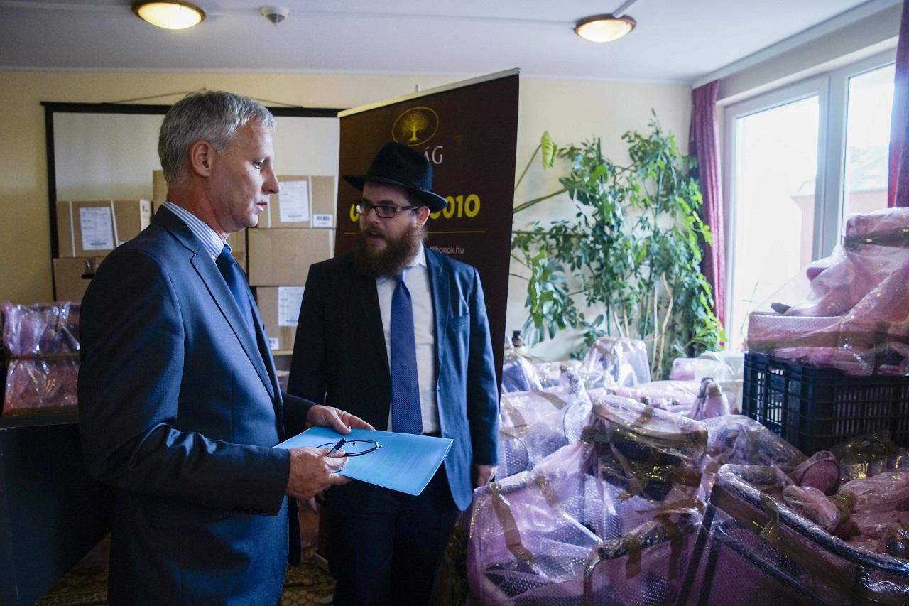 Soltész Miklós: Magyarország a zsidó örökség megőrzéséért dolgozik