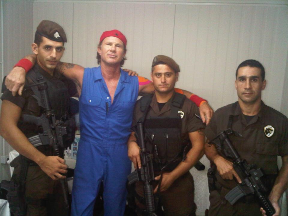 Red Hot Chili Peppers az új izraeli fesztivál fő attrakciója