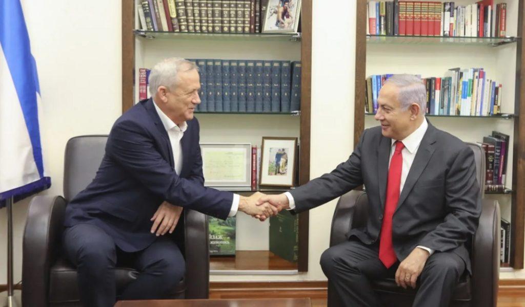 Ganz sérelmezte, hogy Netanjahu nem egyeztetett vele