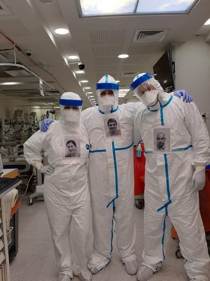 Ötletes megoldással álltak elő a szkafanderes izraeli orvosok
