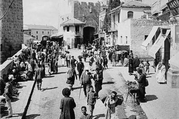 100 éve jött létre a Palesztin népszövetségi mandátum