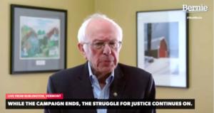 Bernie Sanders feladta