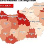 Újabb négy halálos áldozatot követelt a járvány Magyarországon