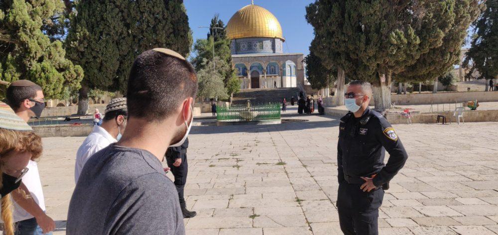 Letartóztatások kísérték a Templom-hegy újbóli megnyitását