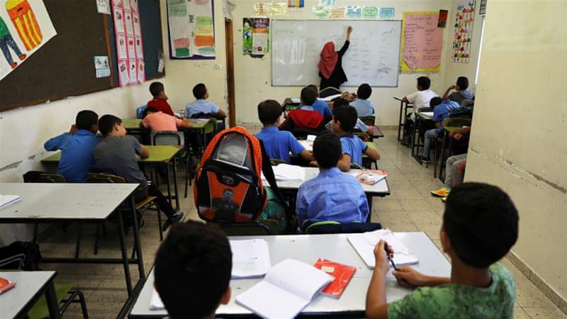 Házi feladat palesztin gyerekeknek: visszavenni az országot a zsidóktól