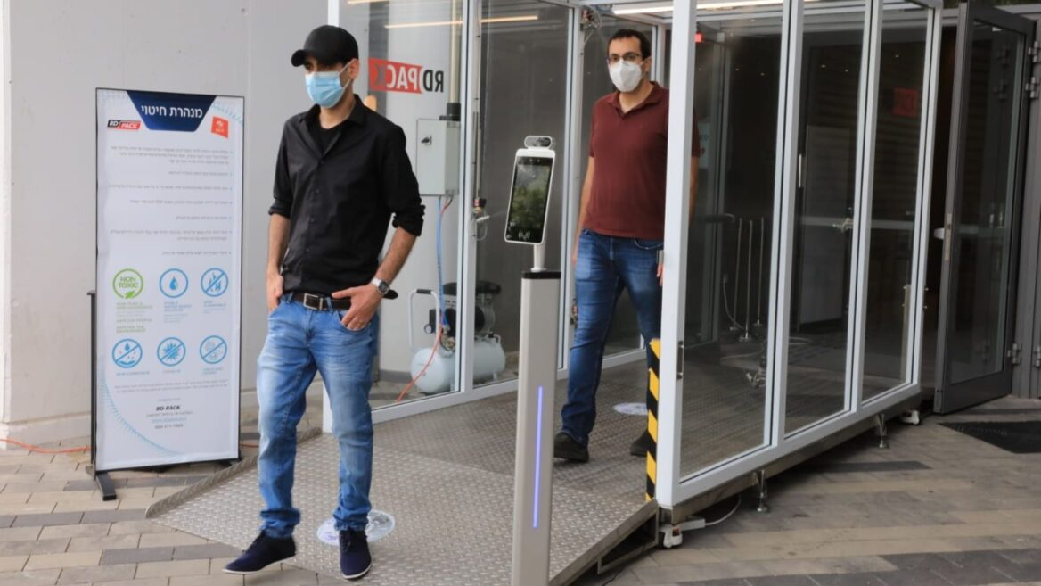 Vírusírtó folyosót tesztelnek Izraelben