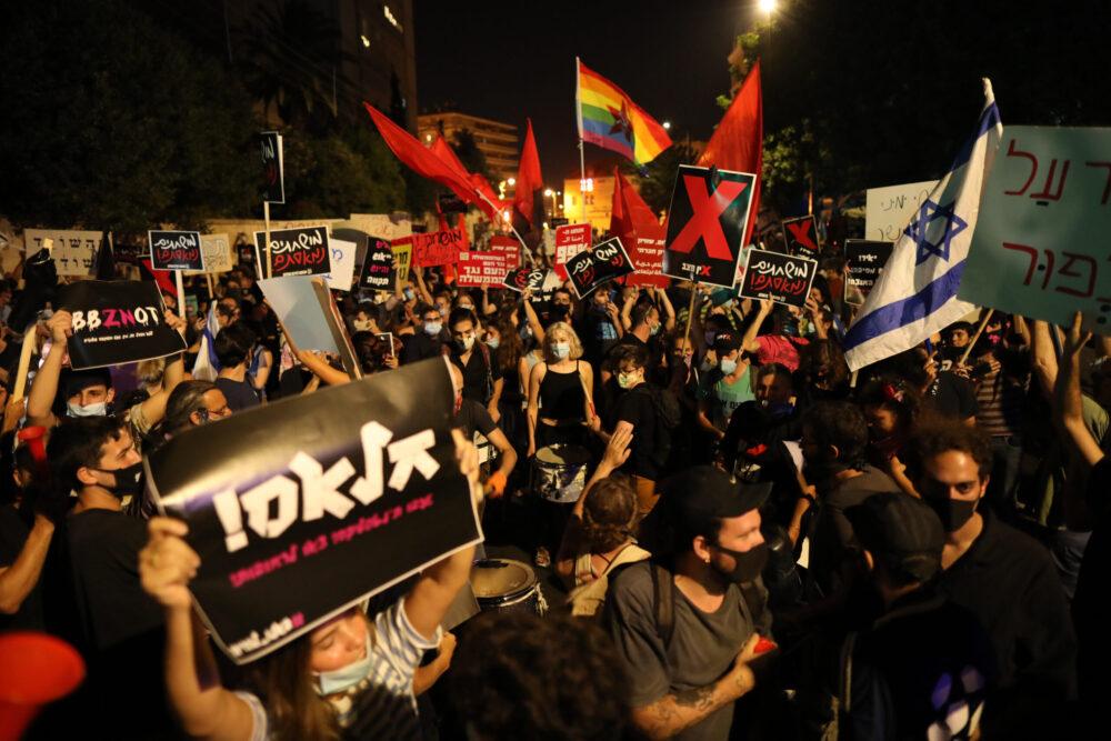 Ismét durva összecsapások voltak a rendőrök és a tüntetők között Izraelben