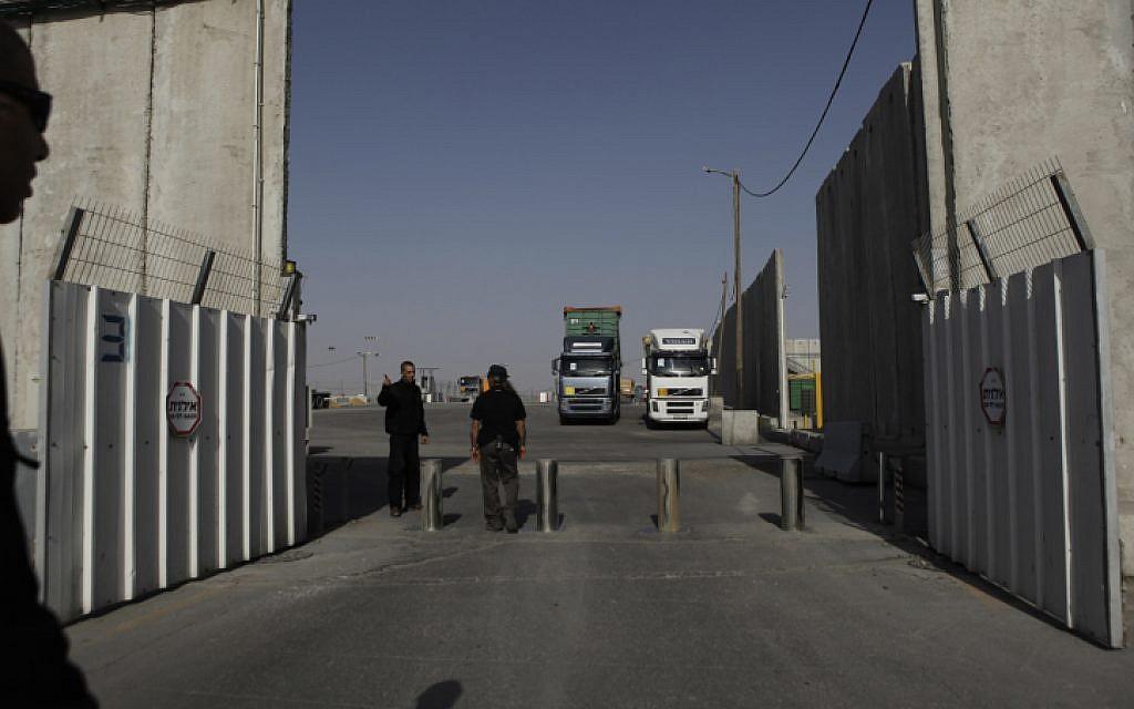 Robbanó léggömbök: Izrael lezárta az egyik gázai határátkelőt