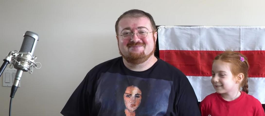 Belorusz tiltakozó dalt énekelnek jiddisül New Yorkban