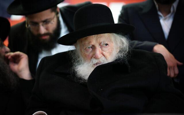 A hárédi világ vezető rabbija szerint jobb a koalíció az arabokkal, mint a baloldallal