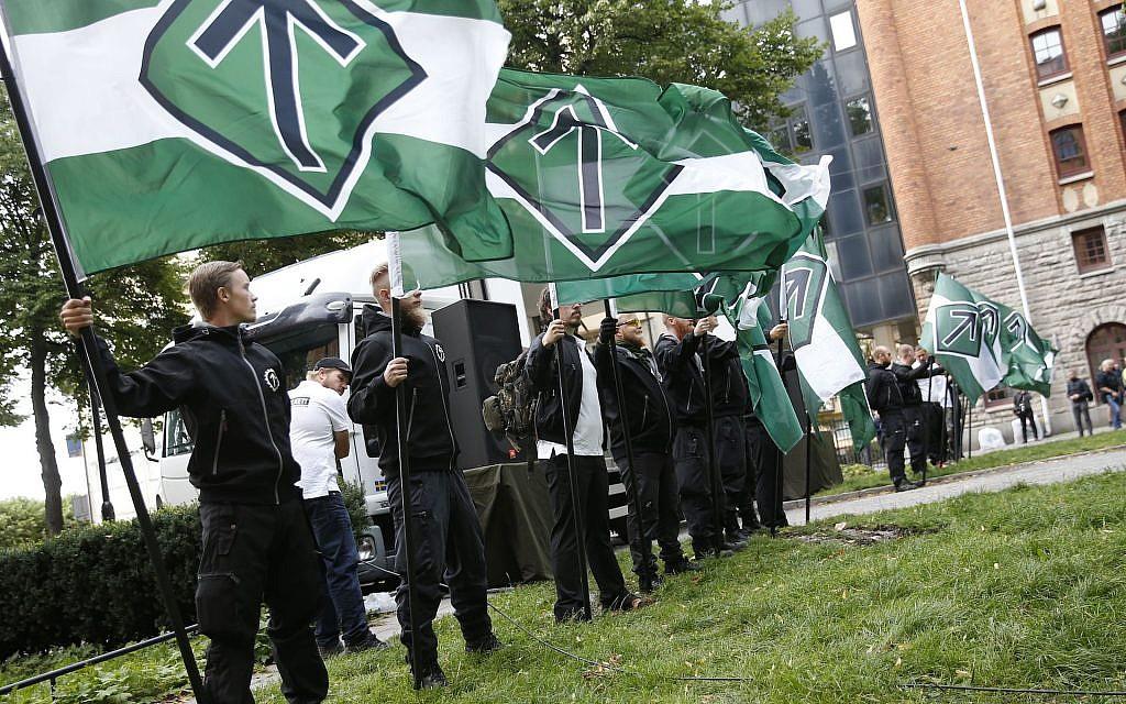 Skandináv neonácik a zsidók ellen uszítottak jom kipurkor