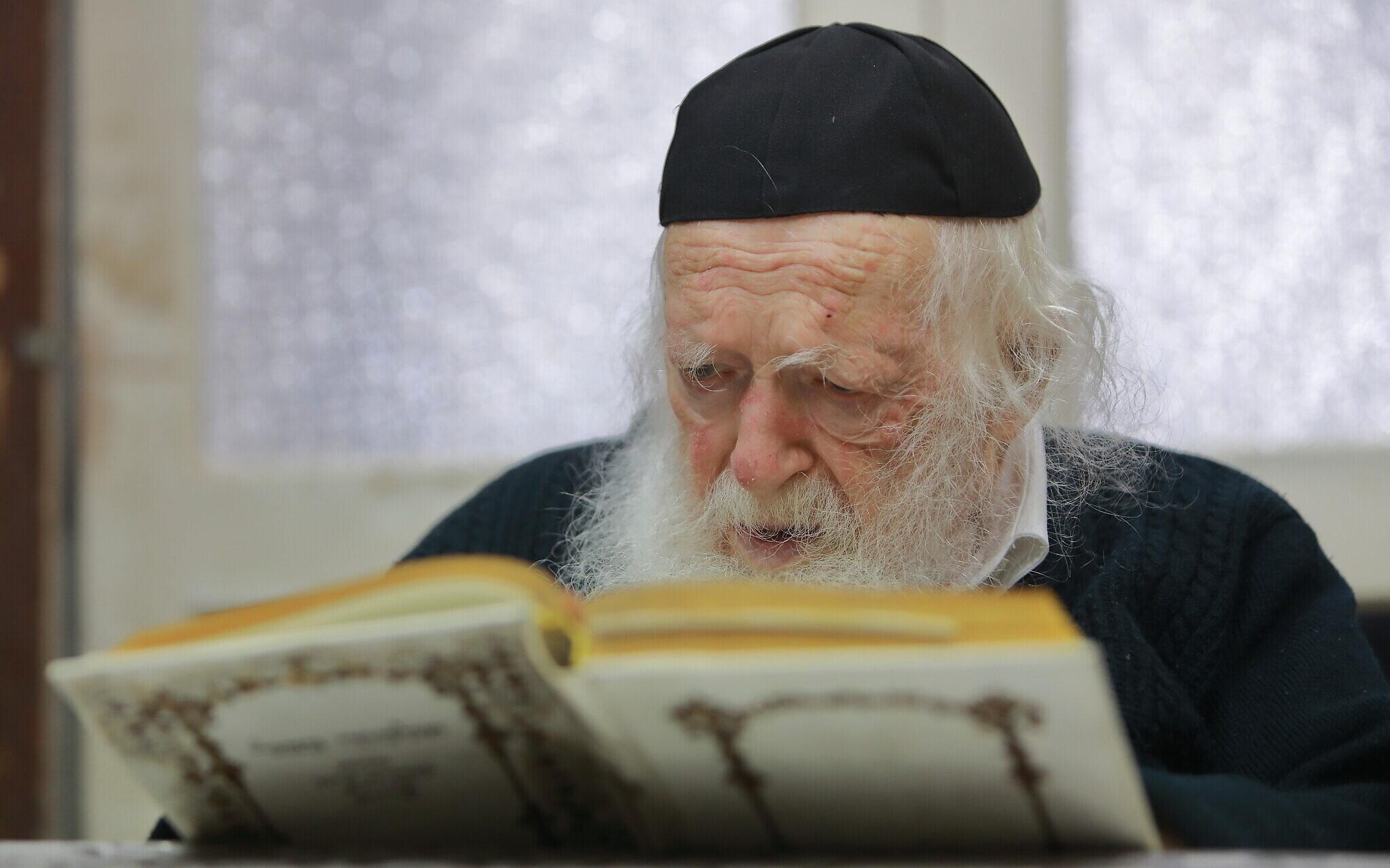 Felgyógyult a koronavírusból a 92 éves vezető rabbi