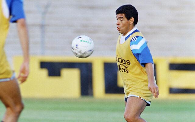 Maradona kérdéses Izrael-szeretete