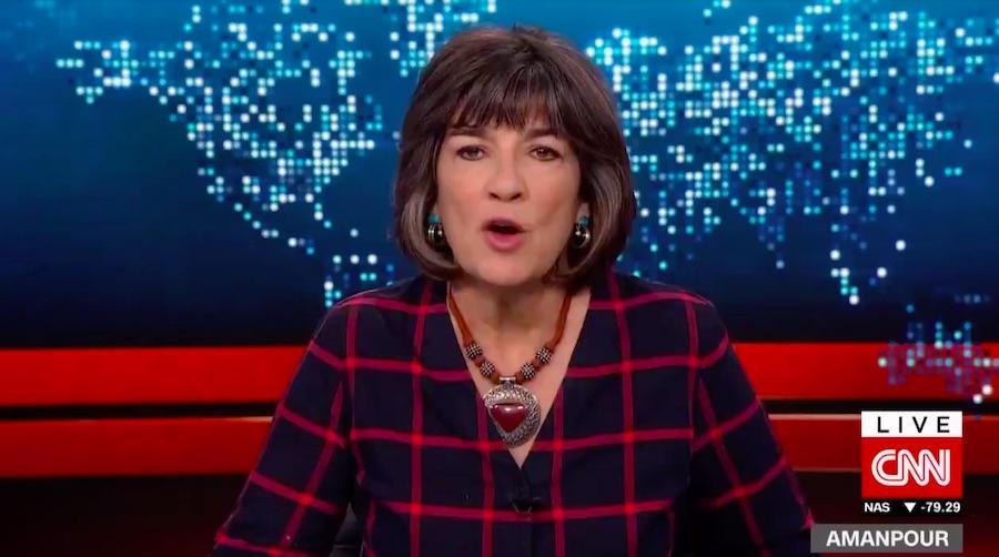 Christiane Amanpour elnézést kért, amiért Trumpot a náci bűnökkel említette egy lapon