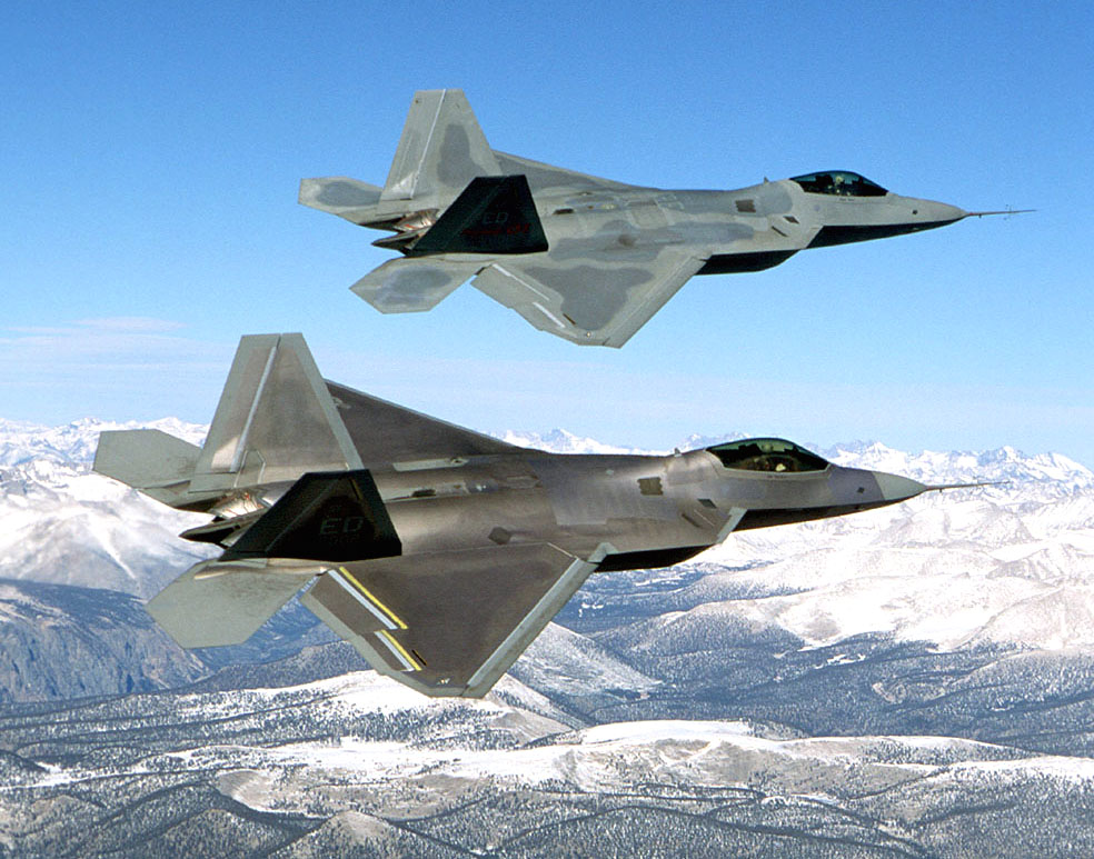 Amerika F-22-es Raptor nehéz vadászbombázókat adhat el Izraelnek