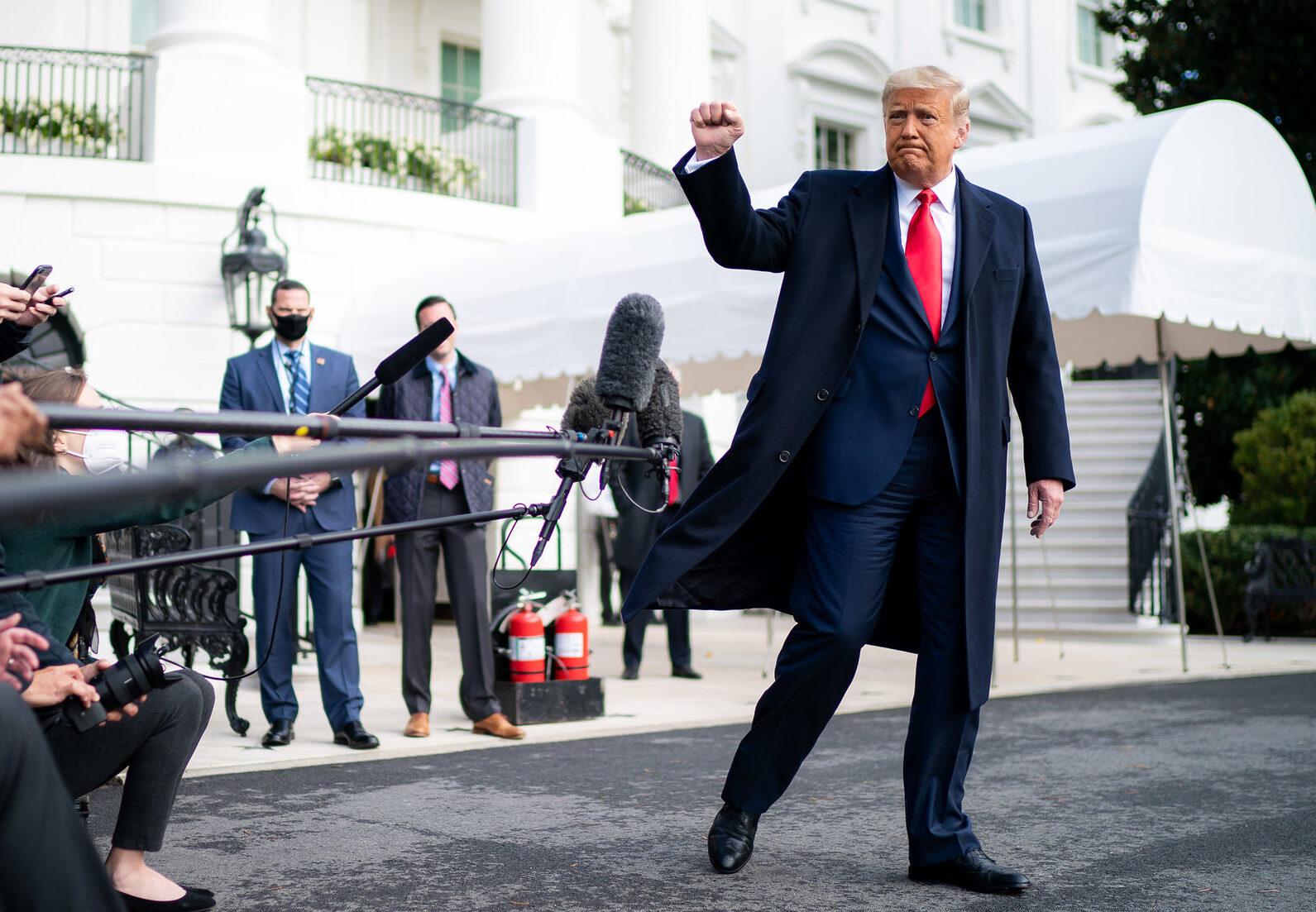 """Trump lett 2020-ban Amerika """"leginkább nagyra becsült embere"""""""