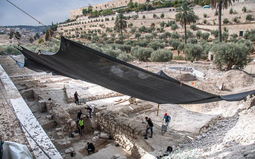 A 2800 évvel ezelőtti, Bibliából ismert földrengés nyomaira bukkantak Jeruzsálemben