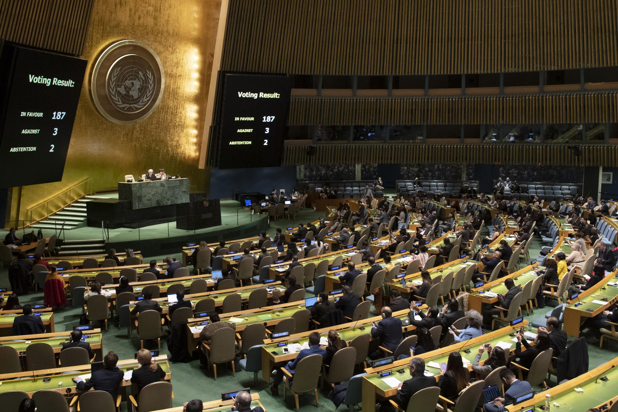 Elfogadták az ENSZ Izrael-ellenes határozatait, Magyarország nagyrészt ezek ellen szavazott