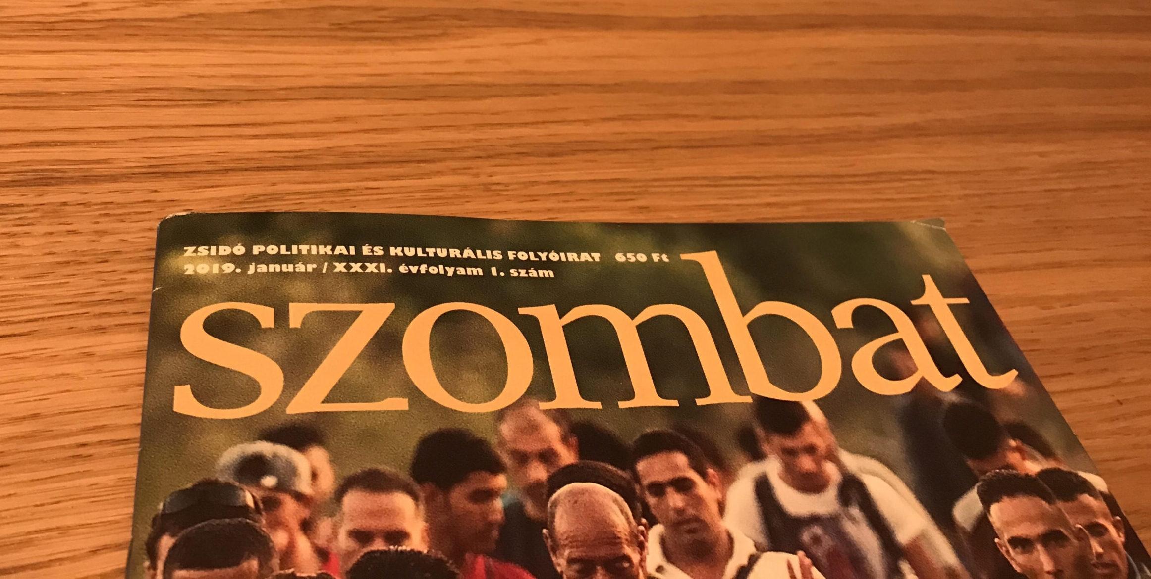 Rágalmazónak nevezte kritikus törzsolvasóját a Szombat folyóirat