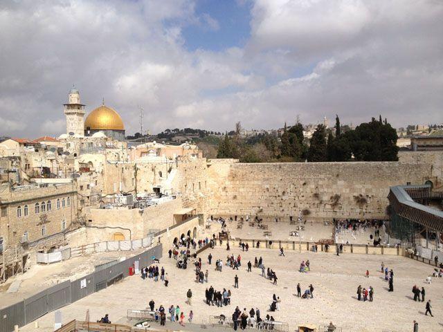 """Jordánia és a palesztinok szerint Izrael tovább """"zsidósítja"""" a Siratófalat"""
