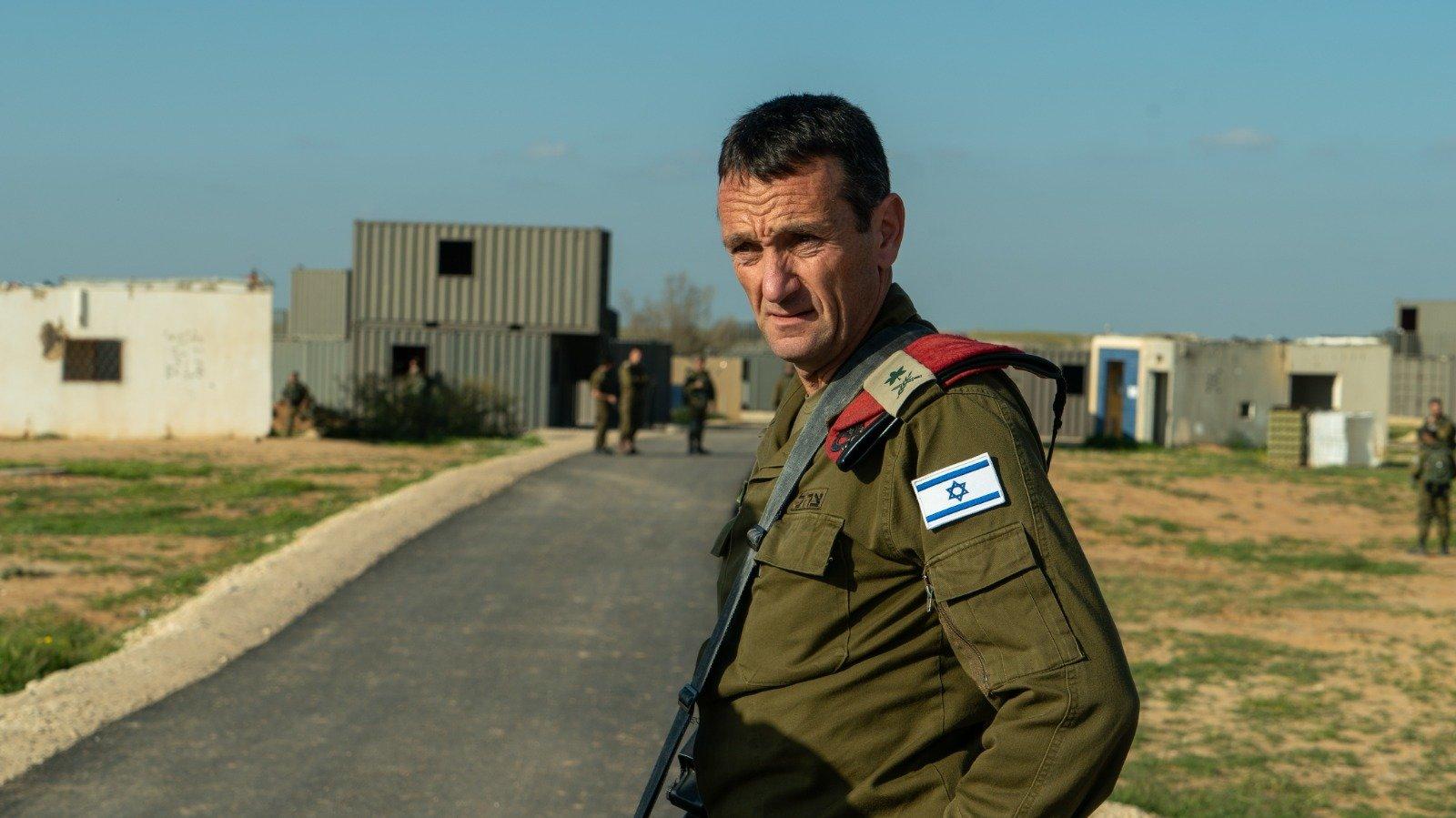 Behatolóként kezelték a leendő izraeli helyettes vezérkari főnököt egy katonai bázison