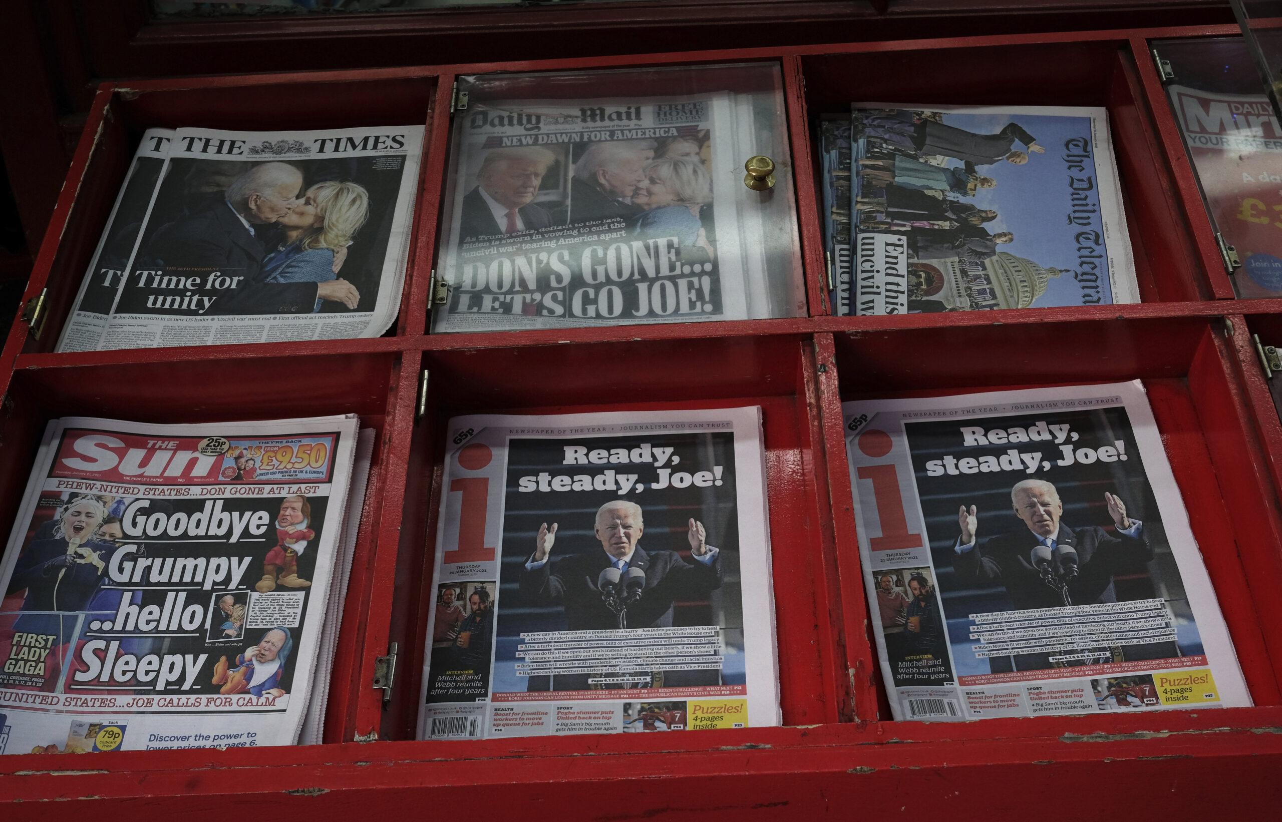 Elnökök a címlapokon — Heti Grün
