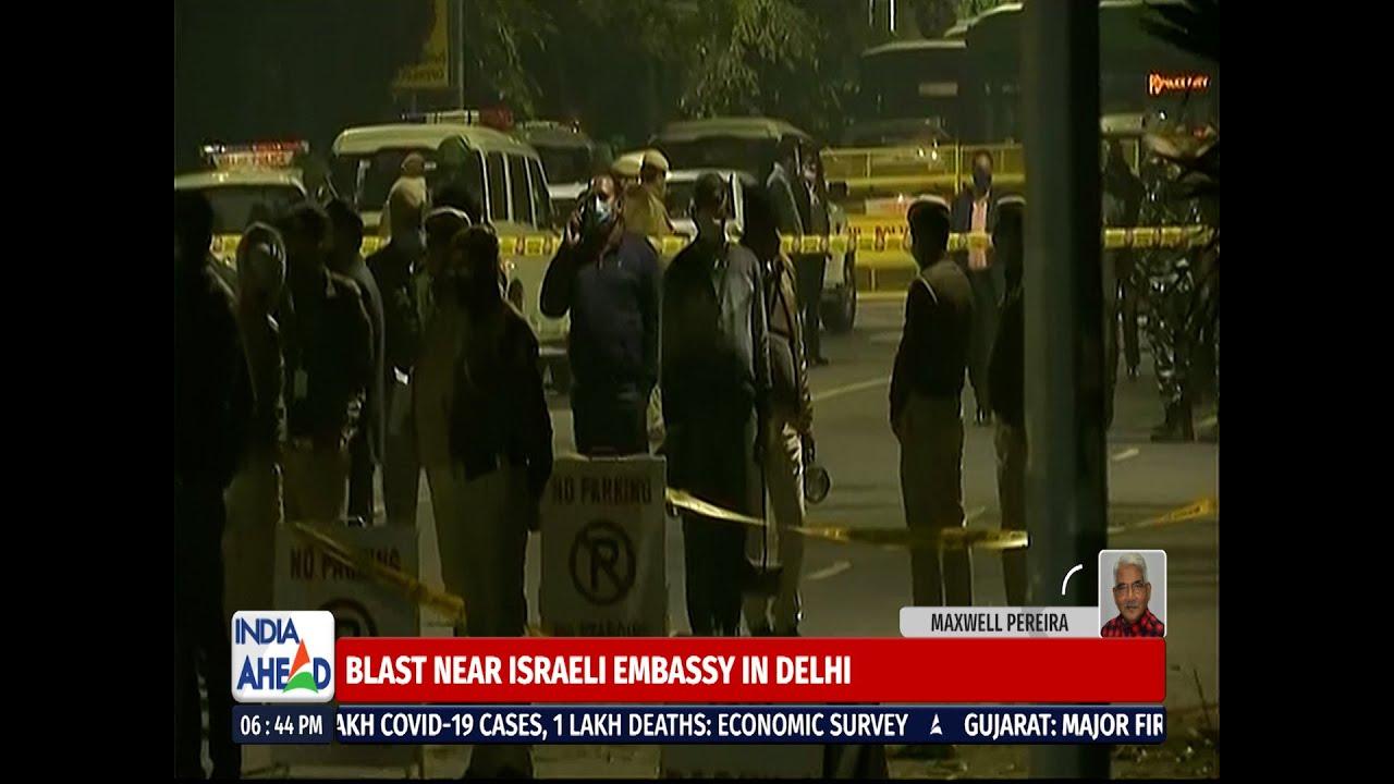 Robbanás történt Új-Delhiben, az izraeli nagykövetség közelében