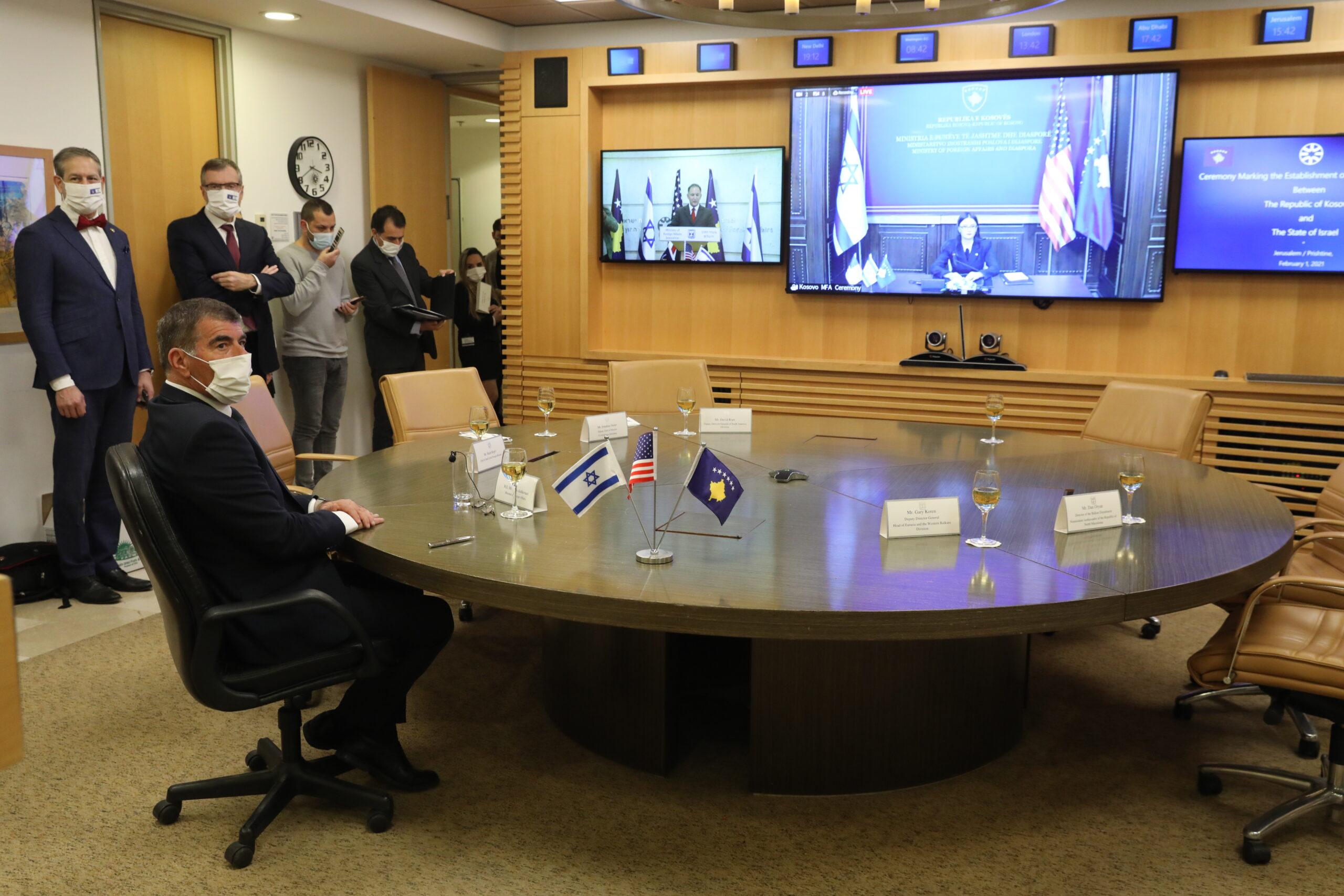 Zoomon létesített diplomáciai kapcsolatot Izrael és Koszovó
