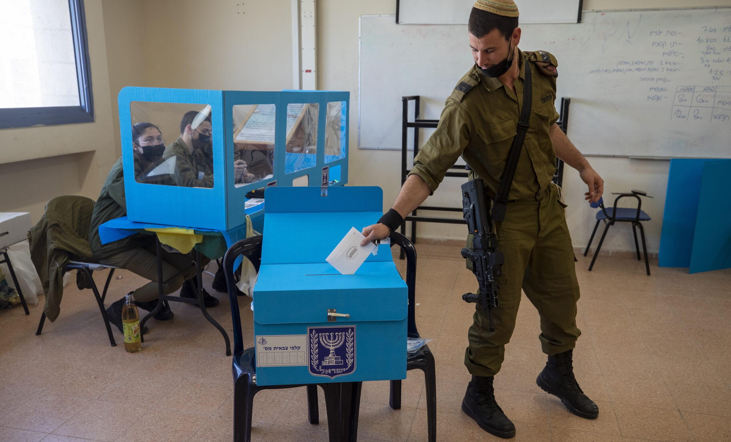Így szavaz az IDF