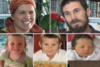 Szomorú évforduló: tíz éve mészárolták le palesztin terroristák a Fogel-családot