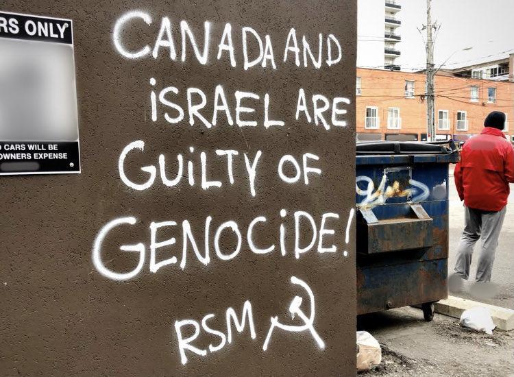 Kazohinia: Antiszemita maoisták zaklatják a kanadai zsidókat