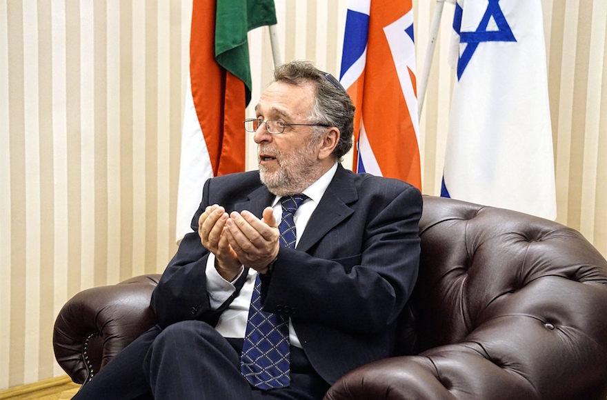 A jeruzsálemi Főrabbinátus bírósága az örökjáradék kifizetésének befagyasztását kezdeményezi