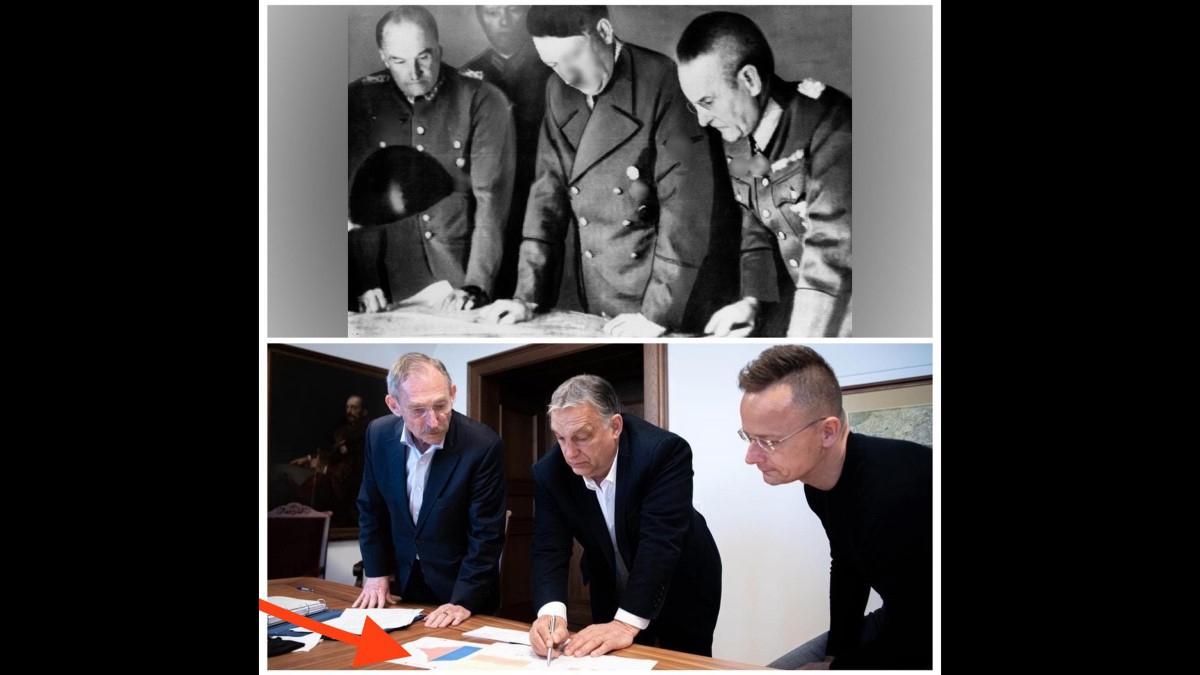 Hitleres képpel találta illusztrálni Orbán Viktorról alkotott véleményét Hadházy Ákos