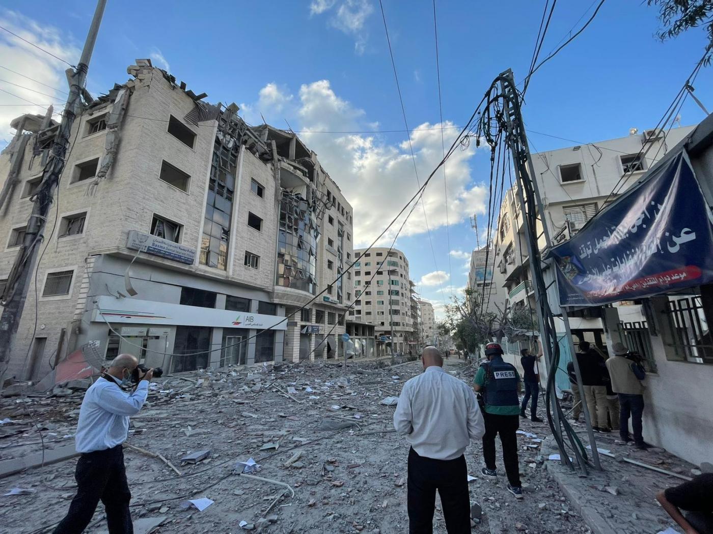 A gázaiak eléggé kiborultak Manszúr Abbászra