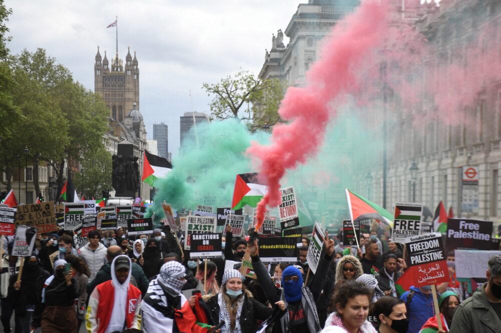 A palesztinpárti mozgalom erősödése az antiszemitizmust is újabb fokozatba kapcsolta